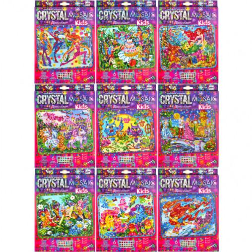 """Набор мозаика из кристаллов """"Kids Crystal Mosaic"""" CRMk-01-01/10 ДТ-ОО-09-09"""