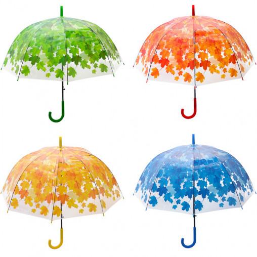 Зонтик - трость, прозрачный листок Х2112/82