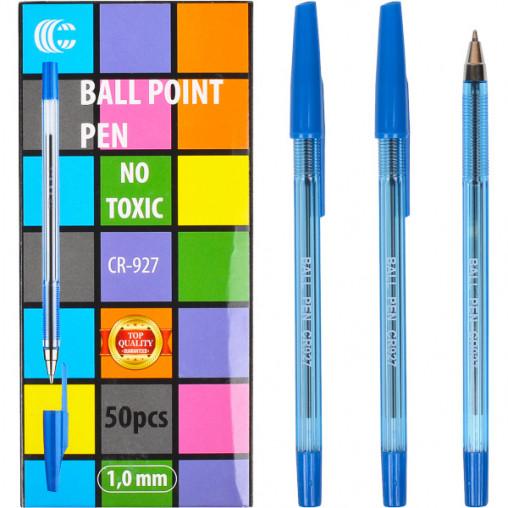 """Ручка шариковая AA927 """"С"""" синяя"""