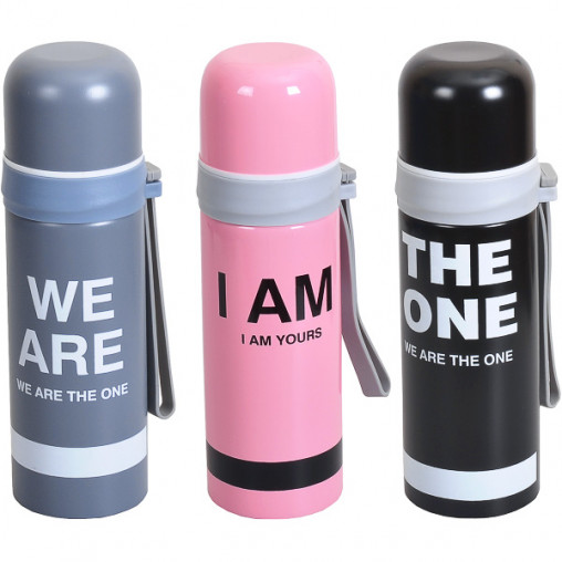 Термос Stainless bottle №7/2 0,35л 21,5х6,5 см 041-7