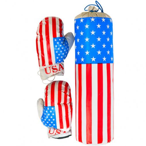 "Боксерский набор ""USA"" маленький ДТ-BX-12-02"
