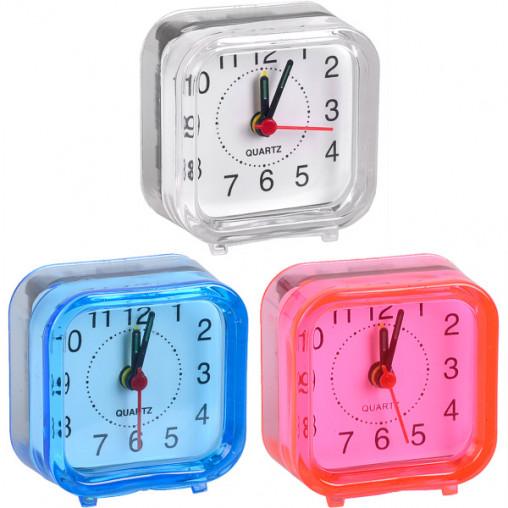 Настольные часы - будильник 2046А/Х2-12 MINI 6*6*3см