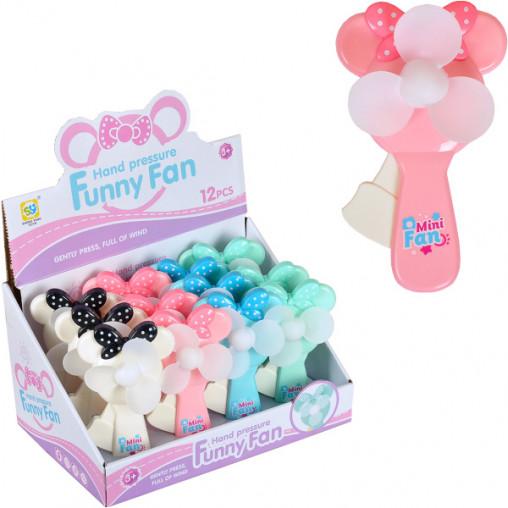 """Ручной детский вентилятор """"Funny Fan"""" 8691 15см"""