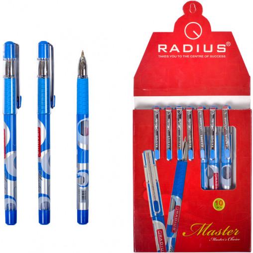 "Ручка ""Master"" RADIUS 10 штук, cиняя 500078"