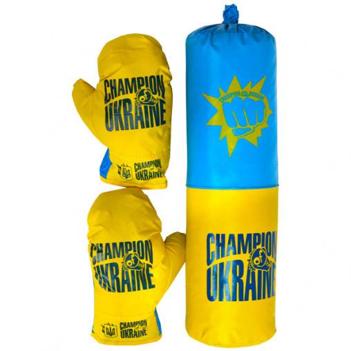 "Боксерский набор ""Украина"" средний ДТ-BX-12-07"