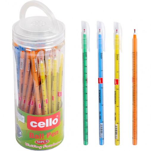 "Ручка масляна ""Ball Pen"" Cello CL369 синя"