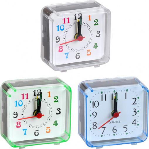 Настольные часы - будильник 2046/Х2-11 маленькие 5,8*5,5*2,7см