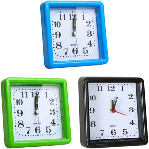 Настольные часы - будильник 924/Х2-27-1,  10*10*3 см