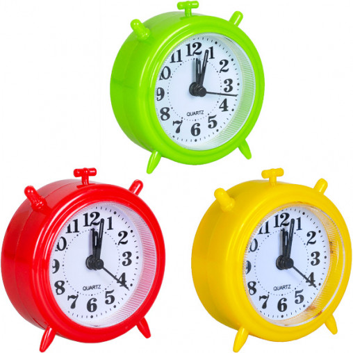 Настольные часы - будильник 8836/Х2-14 9*8*3 см