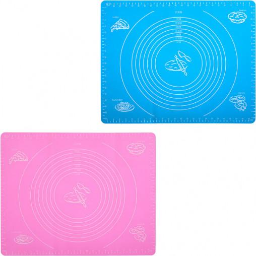 Коврик силиконовый для раскатки с разметкой 40*50см X3-145/СК15-68