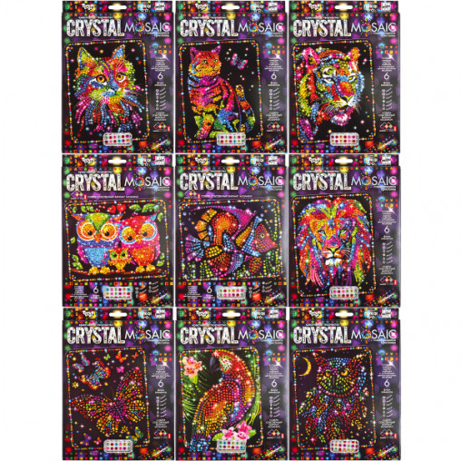 "Набор мозаика из кристаллов ""Crystal Mosaic"" CRM-01-01/10 ДТ-ОО-09-08"