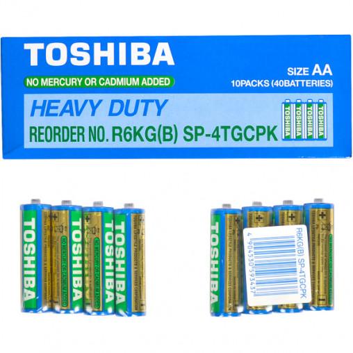 Батарейка Toshiba R6KD SP-4TGTE 593437/152595