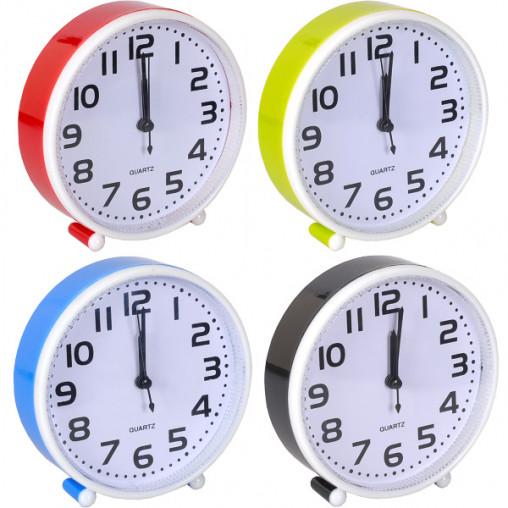 Настольные часы - будильник 201/Х2-21 14*14*4 см