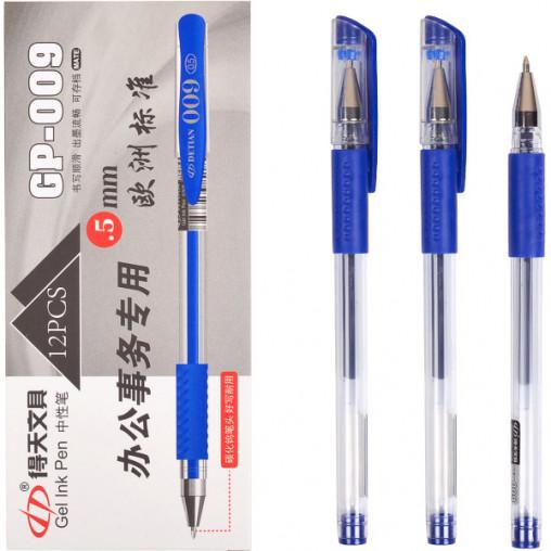 Ручка гелевая GP-009 синяя