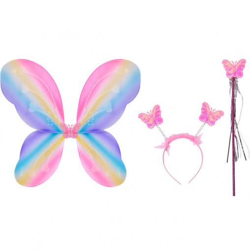 """Костюм """"Бабочка"""" 3 предмета разноцветная 10-28"""