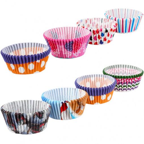 Формочки для кексов бумажные 1000 штук X3-119