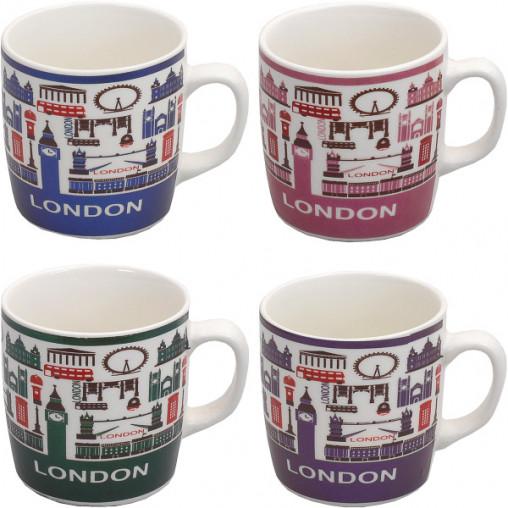 """Чашка фаянс """"Лондон"""" 200мл X3-11"""