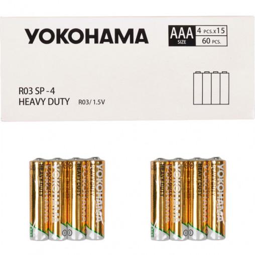 Батарейка YOKOHAMA R-03 SP-4 AAА 60 штук 458706