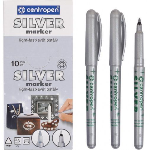 Маркер серебряный 2670/12-silver CENTROPEN