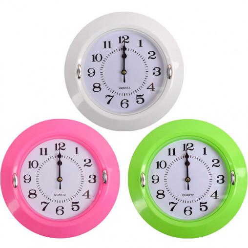 """Настенные часы Х2-32 """"Круг цветной"""" 23*5см"""