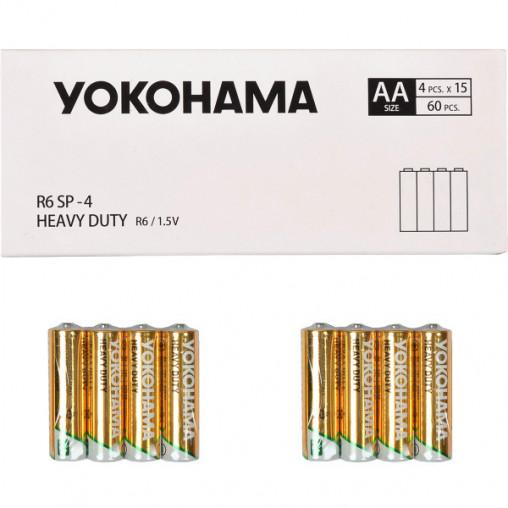 Батарейка YOKOHAMA R-6 SP-4 AA 60 штук 459178