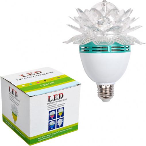 "Вращающаяся лампа 13-75 LED ""Цветок"""