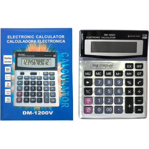 Калькулятор DM1200V 19,5х15х3,5 см