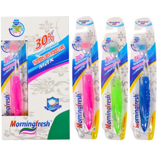 """Зубные щетки дорожные складные """"Morningfresh"""" 18,5 см 937"""