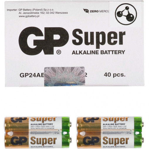 Батарейка GP 24АЕВ-2S2 по 2 штуки Alkaline mini GP-000546/006494
