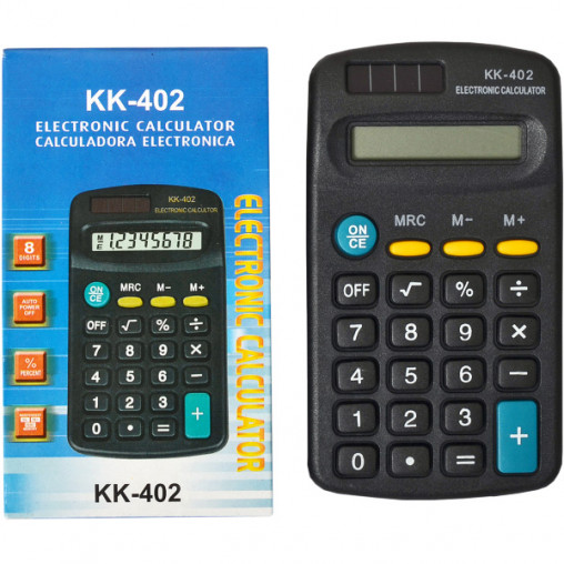 Калькулятор KK402 11,5х6,5х2 см