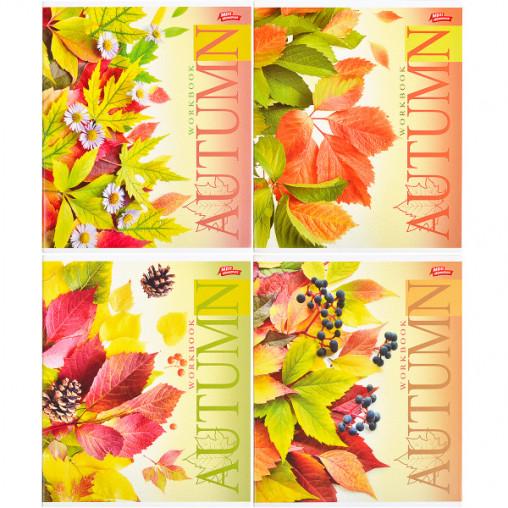 Тетрадь цветная 96 листов, линия 2924л