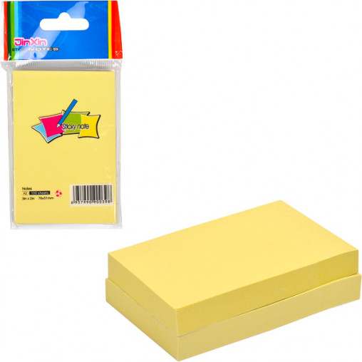 "Бумага для заметок A2-Y/A2 ""стик"" 76*51мм 100 листов"