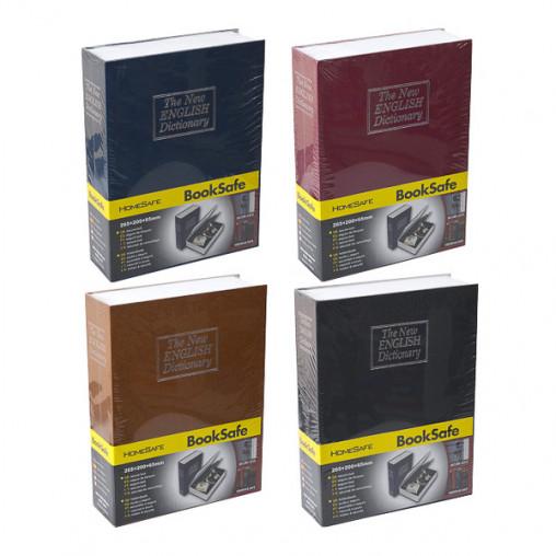Сейф книга средняя 240*155*55мм XY-802