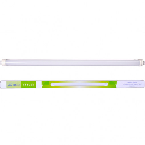 Лампа LED 18W 120см белая холодная D2,6см LW18W/120