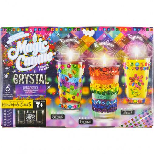 """Набор парафиновые свечи с кристаллами """"MAGIC CANDLE CRYSTAL"""" MgC-02-01 ДТ-ОО-09-10"""