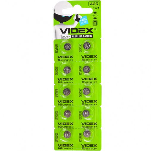 "Батарейка Videx ""таблетка"" AG 5 V-291703"