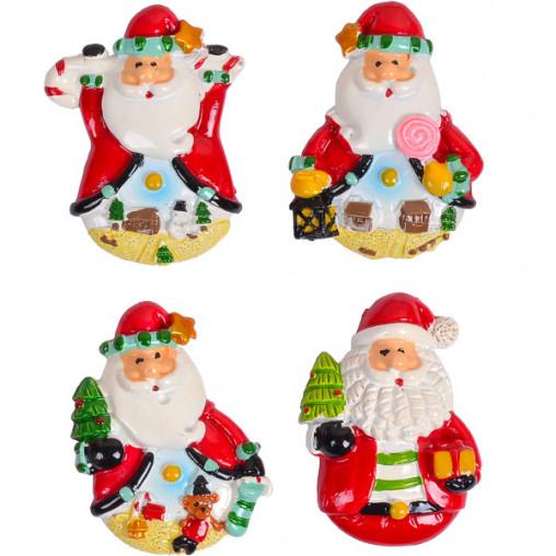 """Магнит """"Дед Мороз с конфетой""""керамический 6730-1"""