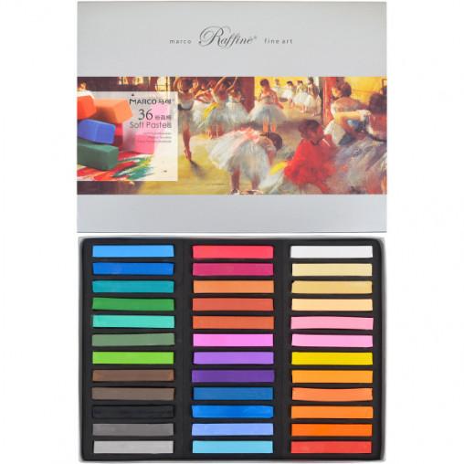 Пастель сухая 36 цветов, 7300/36 Fine Art MARCO