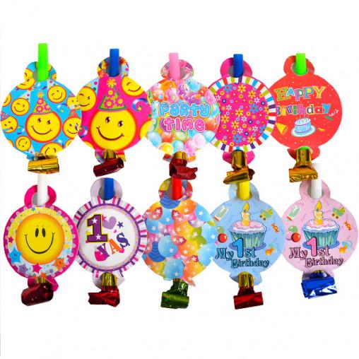 """Дудочка игрушка """"С днем рождения"""" DYT5"""