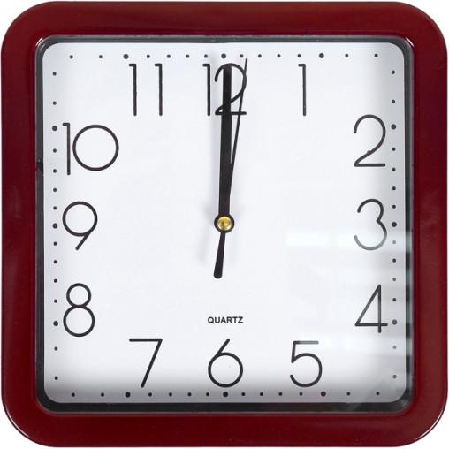 """Настенные часы Х2-31/204 """"Квадрат"""" 19,5*19,5*4см"""