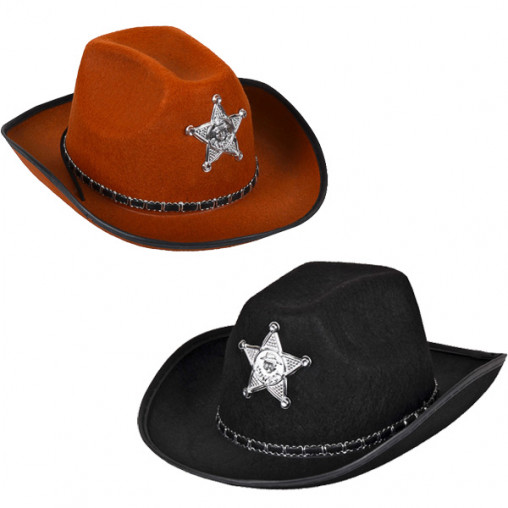 Шляпа Ковбоя-Шерифа 10-24