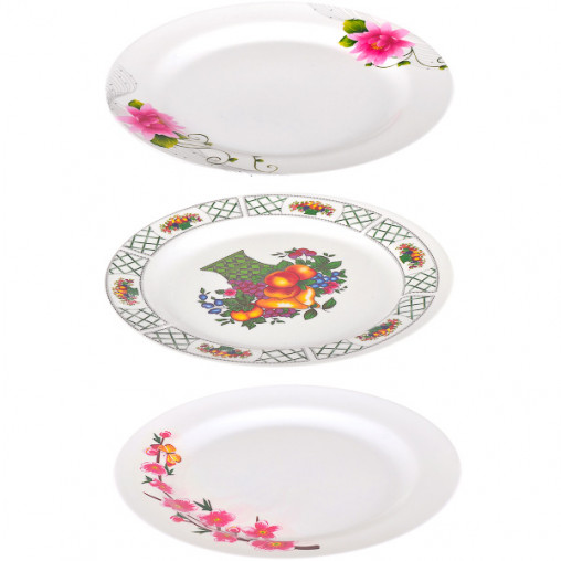 Меламиновая тарелка плоская 3110 D25 см