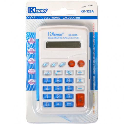 Калькулятор на блистере 328А 9,5х6,5х1см