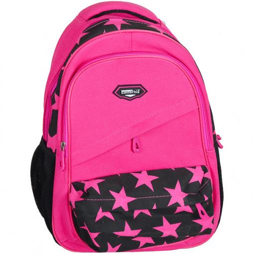 "Рюкзак California M ""Розовые звезды"" 42*29*13см 980531"