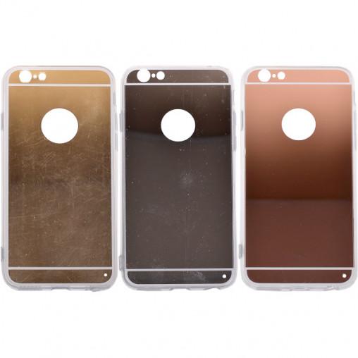 Чехол силикон зеркальный на iPhone6