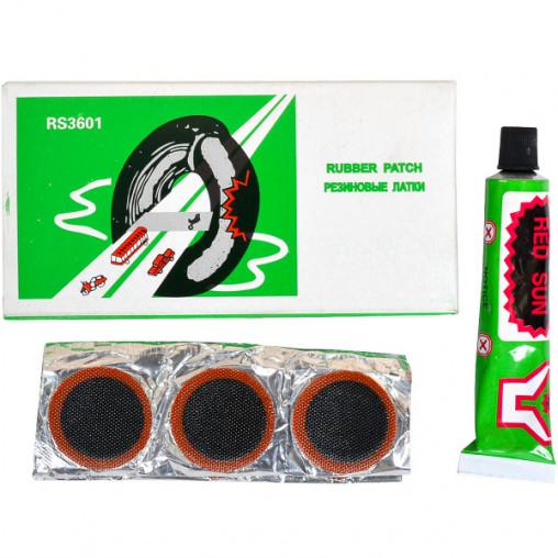 Резиновые латки + клей X4-107/RS3601