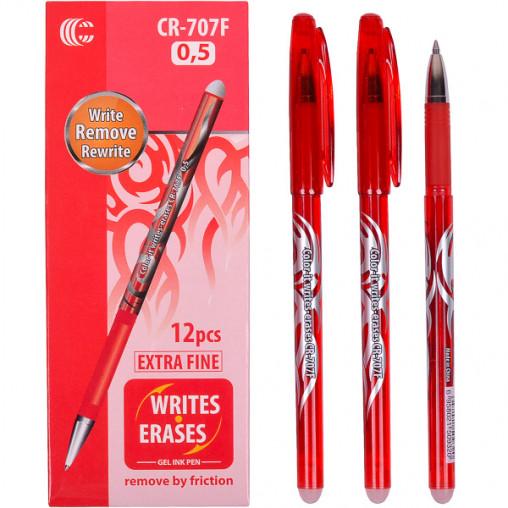 """Ручка """"С"""" """"пишет-стирает"""" красная CR-707F"""