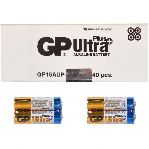 Батарейка GP 15АUP-2S2 по 2 шт AlkalineUltra Plus GP-103650