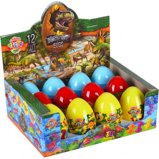 """Тісто для ліплення """"Master Do"""" Dinosaurs EGGS укр. ТМD-08-01U..03U ДТ-ТЛ-02-65"""