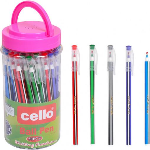 Ручка масляная Cello CL568 синяя
